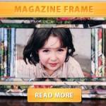 Magazine frame cover