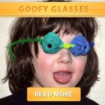 goofy glasses cover