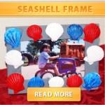 Seashell frame cover