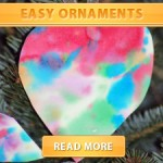 Easy Watercolor Ornament