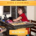 Kids Cooking Front page