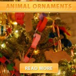 Felt Animal Ornaments