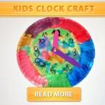 Kids Clock Craft