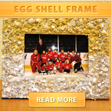 Egg Shell Frame Cover