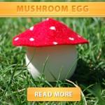 Mushroom Egg Cover