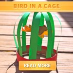 Bird in a cage cover