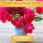 Yarn Wrapped Vase