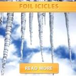 Foil Icicles