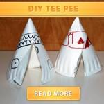 DIY Tee Pee
