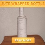 Jute Wrapped Bottle