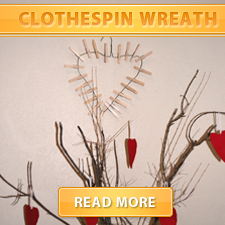 clothespin wreath cover