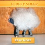 fluffy sheep cover