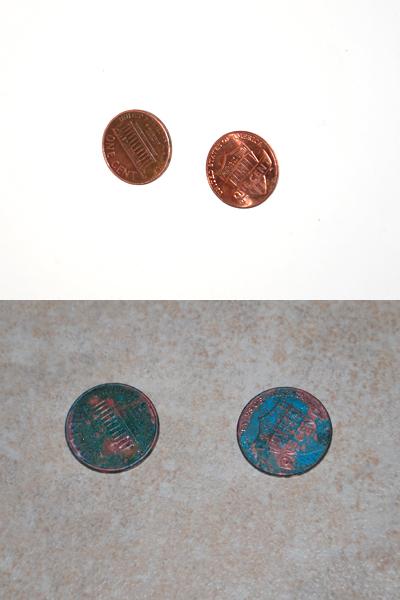 Emerald pennies