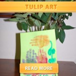 DIY Tulip Art