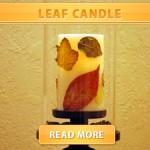 Leaf Candle
