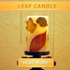 Leaf Candles cover