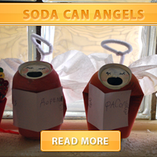 Soda can angels cover