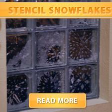 Stencil Snowflakes cover