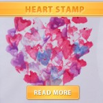 Heart Stamp Cover