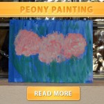 Peony painting cover