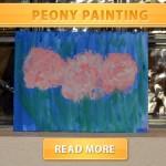 Painting Peony
