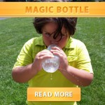 Magic bottle cover