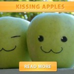 Kissing apples cover