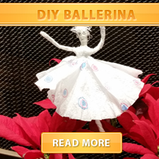 DIY Ballerina Cover