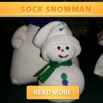 Sock snowman cover