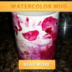 Watercolor Mug cover