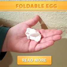 Foldable Egg Cover